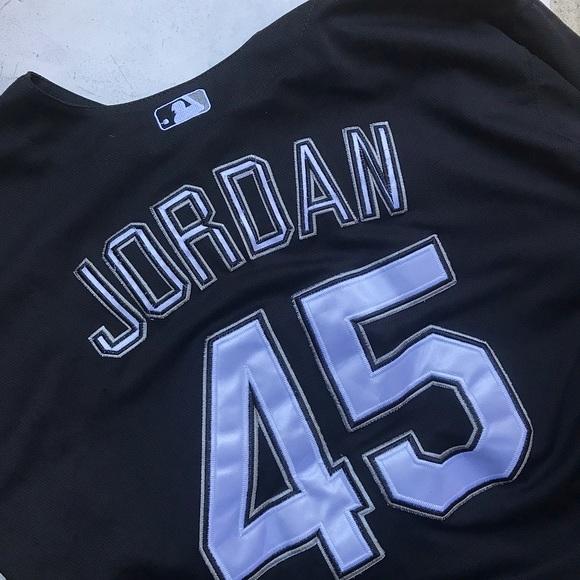 brand new 1e056 f4cdc Michael Jordan Chicago White Sox Baseball Jersey